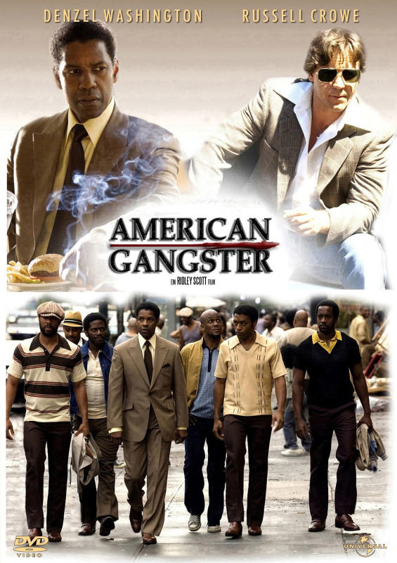 Going Vintage with American Gangster Posters | American Gangster (2007)